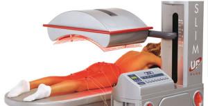 Slim Up è un'apparecchiatura per estetica di nuova concezione, costituita da una sorgente di radiazioni infrarosse e da un elettrostimolatore muscolare. Rassoda, snellisce, modella, Rapidamente!